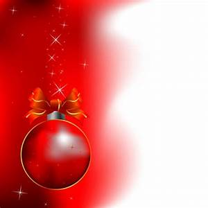 Christmas Classic Red And White Background Vector Free