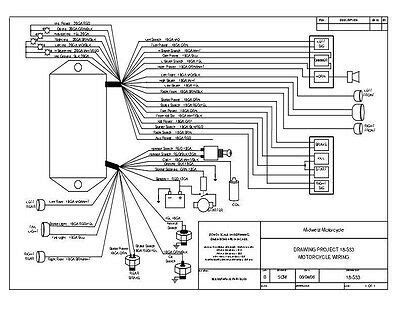 Ultima Ignition Wiring Diagram by Ultima Wiring Harness Complete Motorcycle Wiring Harness