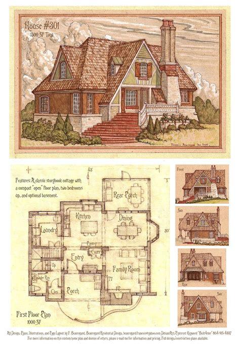 house  storybook cottage  builteverdeviantartcom