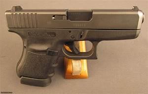 Glock Model 36 Semi Auto Pistol wCase & Extras 45 ACP