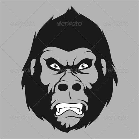 mad carton gorilla face dondrupcom