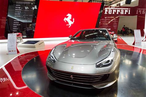 Ferrari Unveils The Allnew Gtc4lusso In China Carrrs