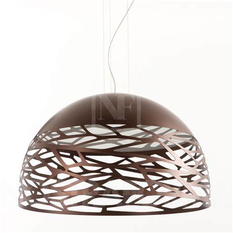 studio italia design kelly pendant lamp dome shaped