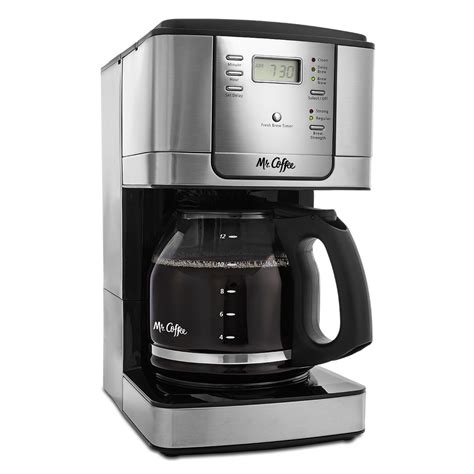 Add some flavor to every morning with the black mr. Mr. Coffee® JWX Series 12-Cup Programmable Coffeemaker, Stainless Steel, JWX31-RB on MrCoffee.com