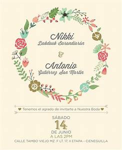 jaw dropping floral wedding invitations theruntimecom With wedding invitation no flowers