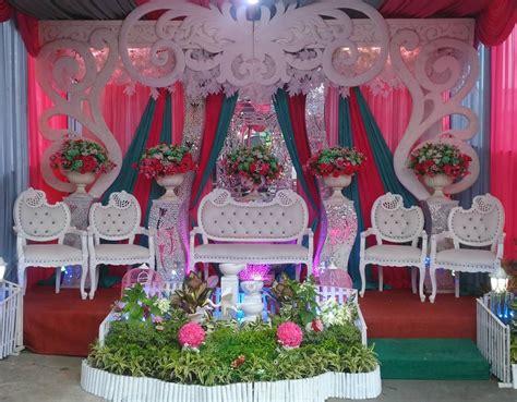 dekorasi pernikahan  rumah sempit modern shabby chic
