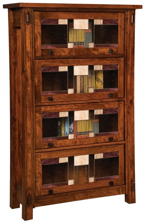 Timken Craftsman Barrister Bookcase  Countryside Amish