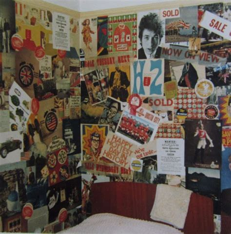 vintage photographs  show teenage bedrooms