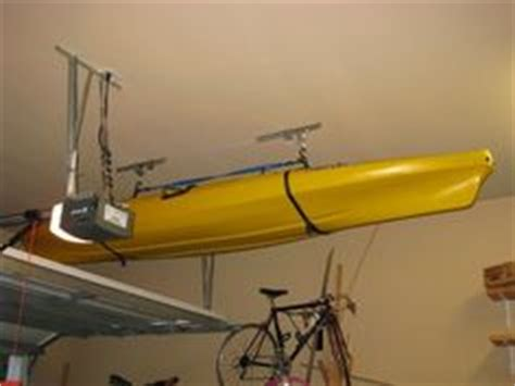 Kayak Ceiling Hoist Diy by Kayaks And Watches On