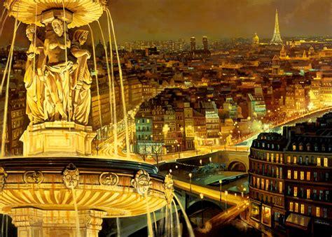 paris france  night   wallpaper
