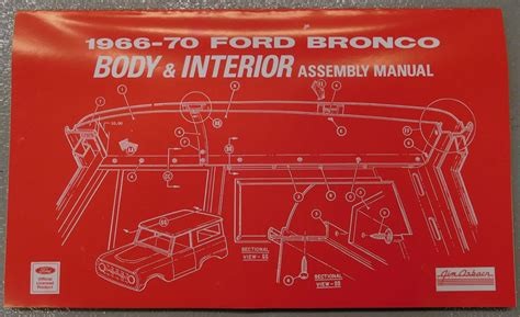 ford bronco owners manual broncograveyardcom