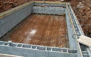 realisations celentano maconnerie construction piscine With construction piscine en beton