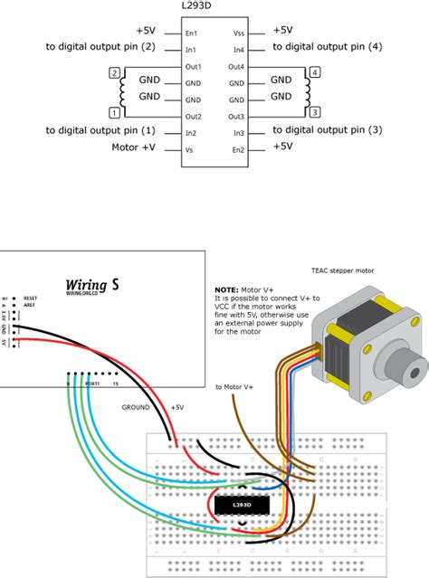 Steppermove Learning Wiring