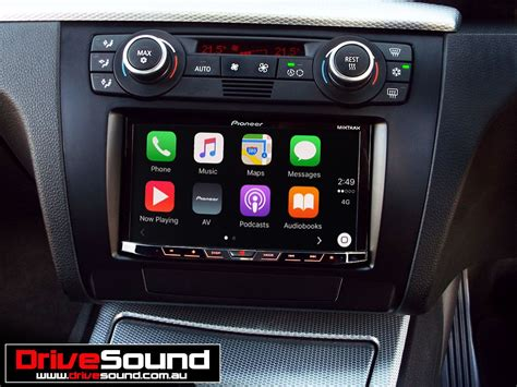 Bmw 1-series With Apple Carplay Installed By Drivesound