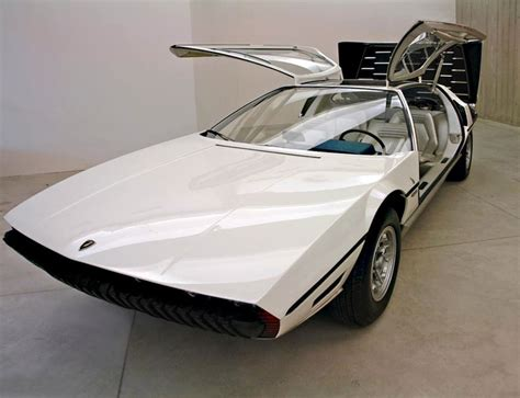 Lamborghini Marzal Four-seater Concept Car (1967) Designed