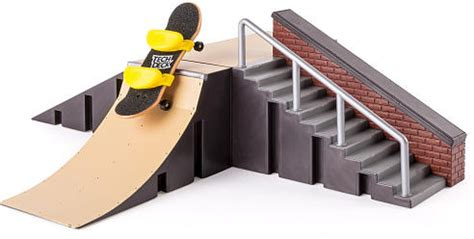 Tech Deck Rs And Rails by R Set And Board Tech Deck Starter Kit Pipe Rails Wall