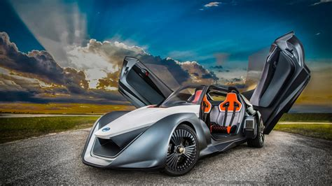 Sports Car Wallpaper by Wallpaper Nissan Bladeglider Sports Car Prototype
