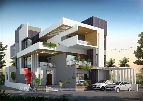 residential towers row houses township designs villa bungalow contemporary bungalow design