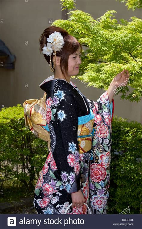cute   japanese girl wearing traditional