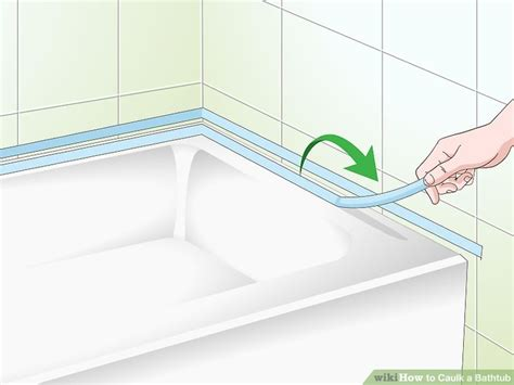 caulking around the tub how to caulk a bathtub 14 steps with pictures wikihow