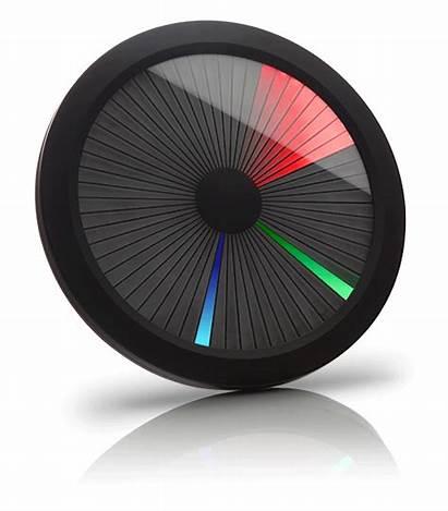 Clock Led Spectrum Chromatic Display Colorful Unique