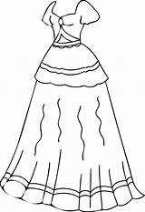Coloring Pages Clothes Dress Dresses Printable Clothing Preschoolers Winter Colouring Pretty Getcolorings Preschool Sheets Worksheets Clipart Colorings Library Popular Wecoloringpage sketch template