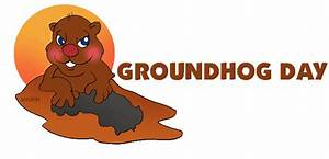 clip art groundhog