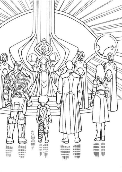 kids  funcom  coloring pages  guardians   galaxy