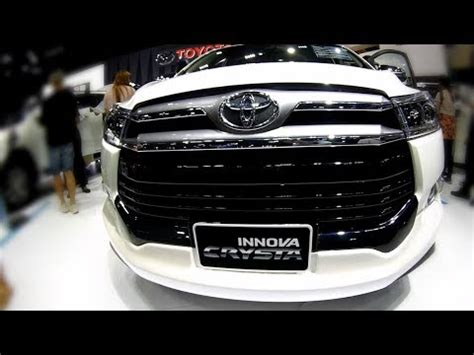 toyota innova crysta  model cars review cars review