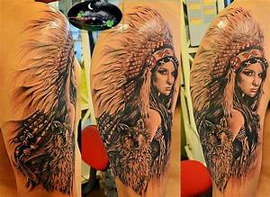 Image Gallery native american women tattoo