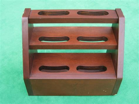small wood wooden retail counter shelving display rack stand ebay