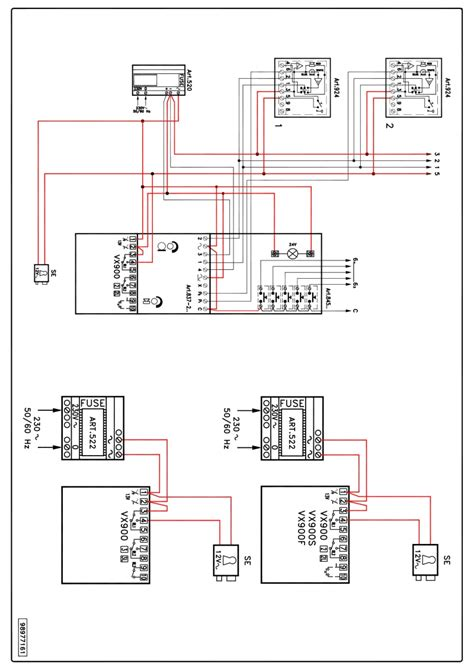 Videx Series Wiring Diagrams