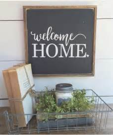 Welcome Home Sign Idea