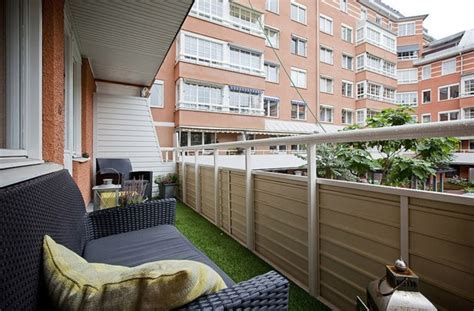 canapé de balcon décoration balcon en attendant le printemps