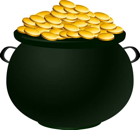 Gold Clipart Clipart Pot Of Gold