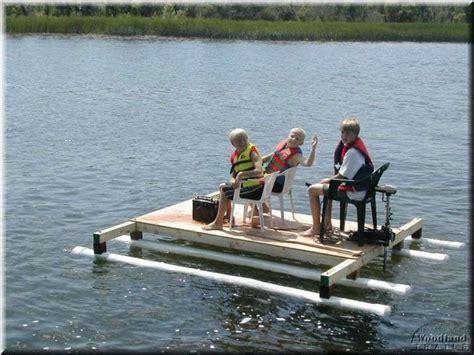 Diy Pontoon Floats by Pvc Raft Water Buoyancy