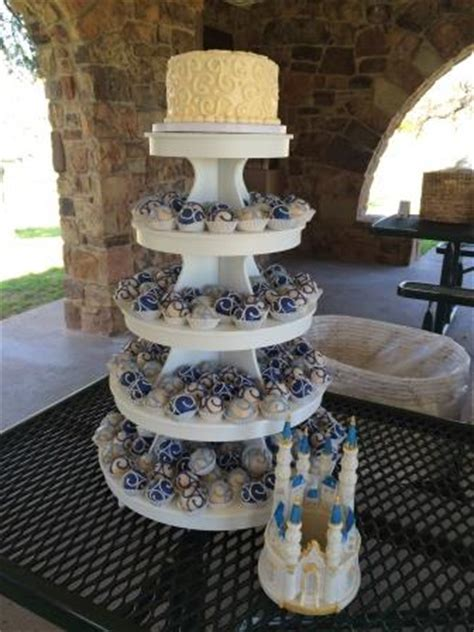 tiered cake ball displays cake bites llc