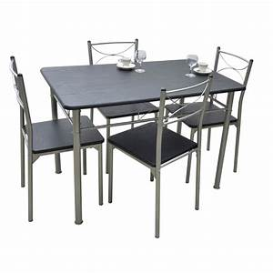Ensemble De Repas Table Chaises TUTI Weng Meuble De