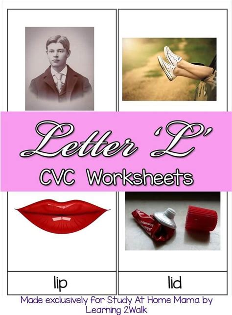 l words for cvc worksheets l cvc words sugar spice and glitter