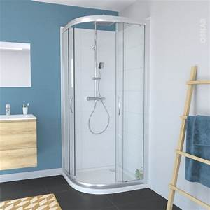 Porte Coulissante Angle Droit : porte de douche coulissante olympe angle 90x90 cm 1 4 de ~ Melissatoandfro.com Idées de Décoration