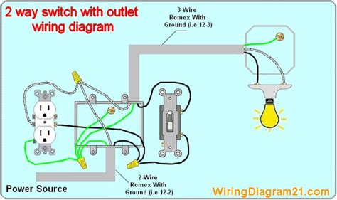 Lightswitch Wiring Diagram by 2 Way Light Switch Wiring Diagram House Electrical