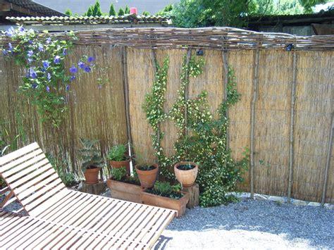 Sichtschutz Garten Schilfrohrmatte by Sichtschutz Sichtschutz Schilfrohr Conexionlasallista
