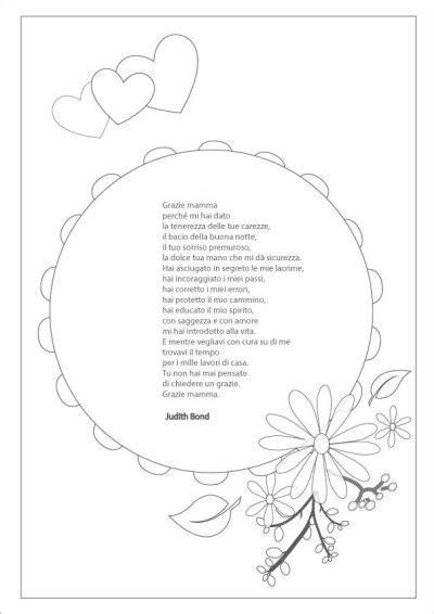 Cornici Per Poesie by Festa Della Mamma Poesie