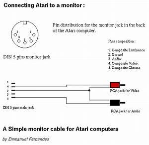 Atari 800 5 Pin Din Connector Wiring Diagram