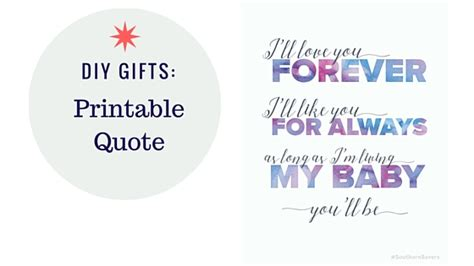 diy gifts ill love   printable quote