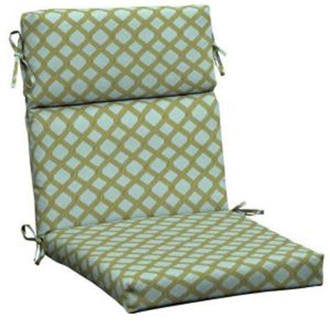 High Back Patio Chair Cushions Home Depot by Hton Bay Mitten Lattice High Back Outdoor Chair Cushion