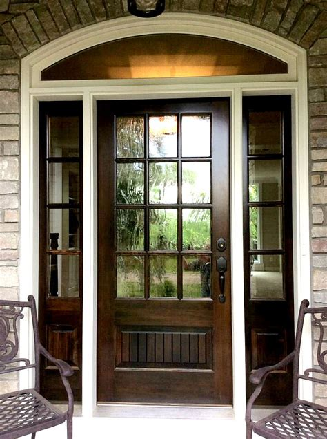 Wood Front Door With Door by Cities Artisan Home Tour 2015 Model Home Doors