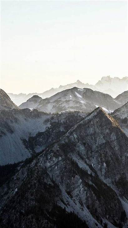 Iphone Nature Layer Mountain Phone