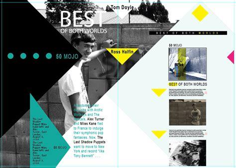 design magazine page magazine layout magazine book pinterest