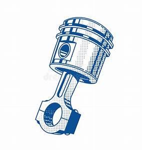 Piece De Voiture : pi ce de moteur m tallique de voiture de piston de vitesse illustration de vecteur ~ Medecine-chirurgie-esthetiques.com Avis de Voitures
